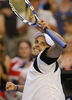 Andy Roddick. Sad to see a great USA player retire.