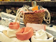 Le nuove creazioni di Mon Pastel Mini, Straw Bag, Basket, Baskets, Hamper