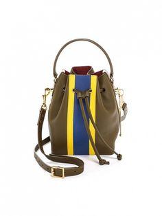 Sophie Hulme Small Drawstring Bucket Bag