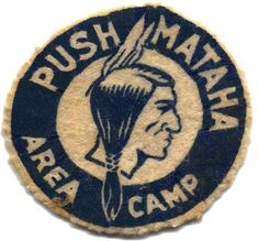 Push Mataha Area Camp patch.