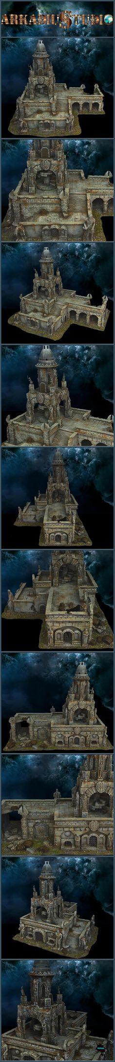 OSGILIATH BELL TOWER RUINS