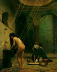 The Moorish Bath - Jean-Leon Gerome