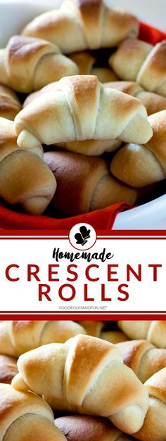 These homemade, golden Crescent Rolls are always the star of any holiday feast. They're tender, buttery, and extraordinary!
