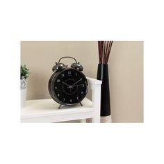 Wake Up - Vækkeur i sølv og sort Sorting, Alarm Clock, Wake Up, Retro, Design, Home Decor, Projection Alarm Clock, Neo Traditional, Alarm Clocks