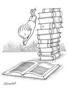 Plonger dans un livre, quel plaisir!