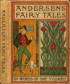 Andersen--Andersen's Fairy Tales in words of one syllable--illus Harriet Comstock--Burt, 1900