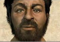 The artist utilized the skull of a man of the same region as Jesus from about 2,000 years ago.  I wonder....if Jesus were depicted like this instead of the blond, blue eyed Jesus we see in churches across the country, would this be as accepted?  Makes you think...