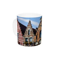 Inbruges by Ann Barnes 11 oz. City Street Ceramic Coffee Mug