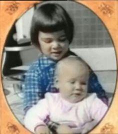 Babies Ann and Nancy w. :3