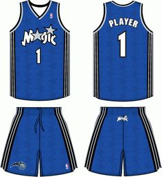 e3a97cefd12 Orlando Magic Road Logo on Chris Creamer's Sports Logos Page - SportsLogos.  A virtual museum of sports logos, uniforms and historical items.