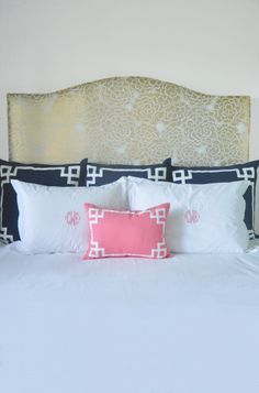 How to Style a Bed with Caitlin Wilson Textiles | Tailored Trim | Rue