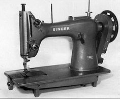 I want an industrial sewing machine capable of working with leather.