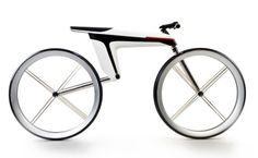 Lineas sencillas que muestran una bicicleta basada en la simplicidad.