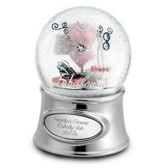 Personalized Fabulous Snow Globe Gift by Things Remembered. $29.99. You've shopped 'til you've dropped with her a million times. Her shoe collection would make any woman jealous. She always looks great from her head to her perfectly tended toes. She's simply fabulous, and this gift is the perfect way to celebrate her. Decorated with all the fun accessories you both love, it rotates on its brilliant silver base and plays - what else? - Pretty Woman. Engrave it with the per...