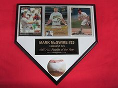 Mark McGwire Oakland Athletics Plaque