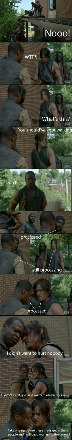 The best scene of TWD season 4. #thewalkingdead