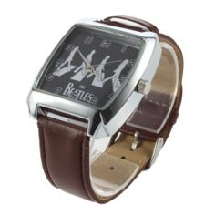 YKS New Beatle Square Fashion Wrist Watch for Men and Women by YKS. $7.99