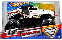 Hot Wheels Monster Jam 1:24 Scale Die Cast Official Monster Truck 2011 Series #T0231 - Candice Jolly MONSTER MUTT... $24.87