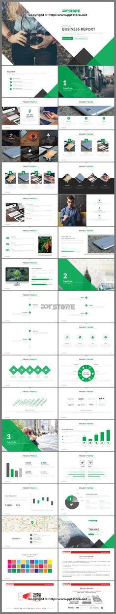 【清新简约商务PPT模板(浅+深+占位符)】-PPTSTORE Web Design, Slide Design, Book Design, Layout Design, Presentation Format, Presentation Templates, Infographic Examples, Book Layout, Keynote Template