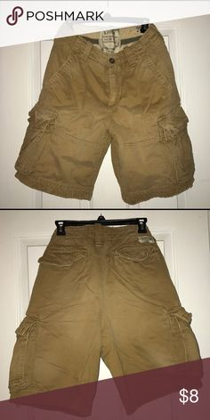 Abercrombie Cargo Shorts Khaki Abercrombie shorts Abercrombie & Fitch Shorts Cargo