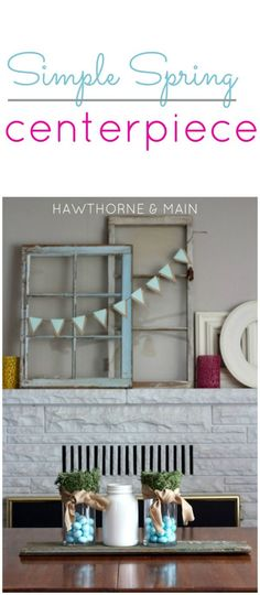 Spring is just round the corner!! Come learn how to make your own simple spring centerpiece.  www.hawthorneandmain.com