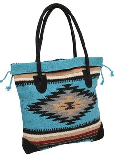 Handwoven in classic Southwest designs and vibrant, rich colors. Carry your…