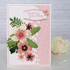 Botanical Blooms und Framelits Pflanzen Potpourri von Stampin Up