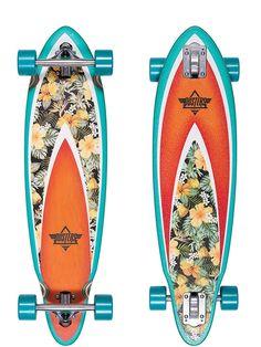 """Dusters Fin Hani 33"""" Longboard Skateboard"""