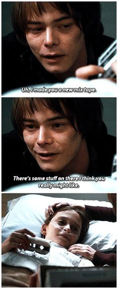 look at my son. pride is not the word i'm looking for | #1x08 #jonathan byers #will byers