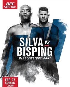 Anderson Silva vs Mike Bisping fight promo : if you love #MMA, you'll love the #UFC & #MixedMartialArts inspired fashion at CageCult: http://cagecult.com/mma