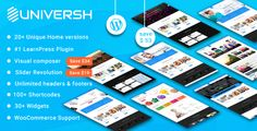 awesome Universh -Materials Training, Occasion, Information, Studying Centre & Child Faculty MultiPurpose WordPress Theme (Training)