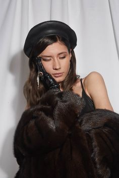 2fe57bc2ceb43 49 Best LEATHER BERET images in 2019