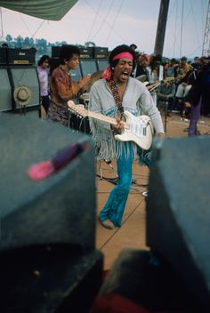 Jimi Hendrix live at Woodstock How I wish to have been able to see him play.