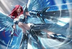 Find the best Fairy Tail Erza Wallpaper on WallpaperTag. Fairy, Fairy Tail Anime, Anime Fairy, Fairy Tail Erza Scarlet, Art, Anime, Fairy Tales, Fan Art, Sakimichan Art