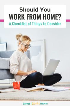 Check out this complete checklist of things to consider when deciding weather to become a work from home mom. Hobbies That Make Money, Fun Hobbies, Way To Make Money, Things To Sell, Earn Extra Cash, Making Extra Cash, Extra Money, Easy Money Online, Online Jobs