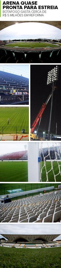BotafogoDePrimeira: E a Arena? Sem data de estreia, custo por jogo já ...