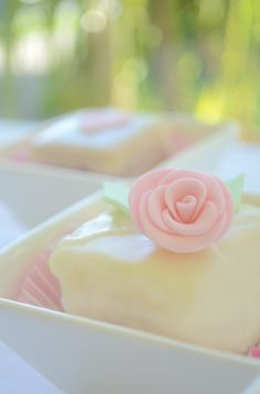 lovely petit fours recipe