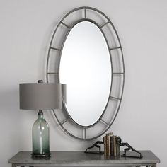 Uttermost Gilliam Wall Mirror - 34W x 58H in. | from hayneedle.com