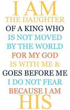Because I am His... #AConfidentHeart <3 #LetGodLoveYou #Devotional