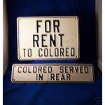 eBay Image 1 Jim Crow Signs 1. Sold For: Bathroom Hacks, Apartheid, Jim Crow, Green Books, Harlem Renaissance, Rosa Parks, African American History, Black History Month, World History