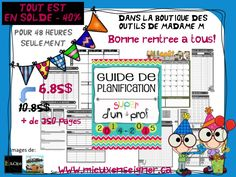 French Resources, Madame, Bullet Journal, Index, Php, Store, Words, Planner Organization