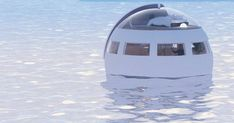Would You Sleep In This Floating Capsule Hotel That Drifts To A Desert Island By Morning?   Bored Panda