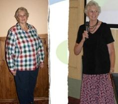 Nancy lost 74 pounds in 7 months!