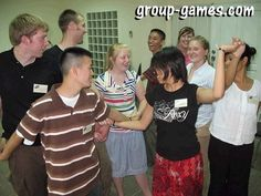 Human Knot Icebreaker | Group games, ice breaker games, team building activities, youth group games, icebreakers