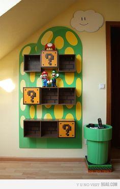 Super Mario Bros Shelves