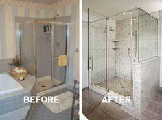 #Bathroom #remodel #beforeandafter #nova #loudoun #ashburn
