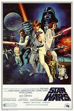 Star Wars - 1977 - Directed by George Lucas  http://www.voteupimages.com/star-wars-1977-george-lucas/