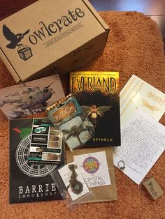May OwlCrate Box :-)