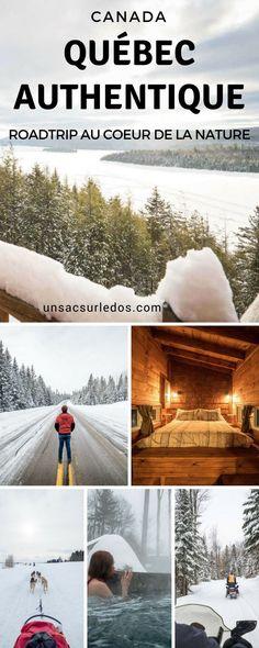Sans doute une des plus belles régions du Québec : le Québec Authentique. Voici nos découvertes dans les régions de Mauricie et Lanaudière, ainsi que des idées d'activités pour profiter de l'hiver. Autant vous dire tout de suite, il y a de beaux coups de cœur en perspective ! #Canada #Quebec #QuebexAuthentique #authentique #Mauricie #Lanaudiere #hiver #neige #chien #traineau #traineauachien #chiendetraineau #motoneige #skidoo #spa #chalet #cabane #lac #foret #nature