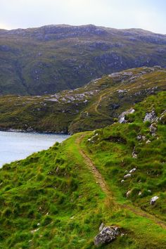 The Postman's route from Talbert to Rhenigidale, on the Isle of Harris, EscocIa The Places Youll Go, Places To See, Isle Of Harris, Outer Hebrides, Scotland Travel, Highlands Scotland, England And Scotland, British Isles, Dream Vacations
